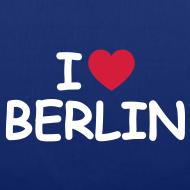 Motiv ~ I love Berlin-Tragetasche