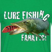 Lure Fishing Fanatic Tee Shirt