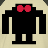 Design ~ 8 BIT ROBOT T-SHIRT