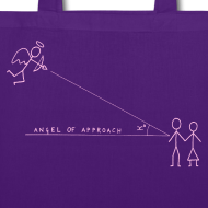 Design ~ Angel of Approach - Canvas Bag