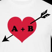 Design Saint-Valentin Cupidon Initiales