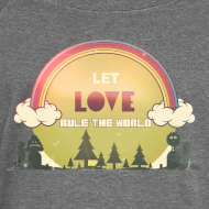 Motiv ~ Let Love Rule The World- KUNSTVIBE