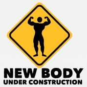 new body under construction 2c T-Shirts