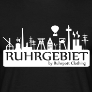 Motiv ~ Skyline Ruhrgebiet by RPC - T-Shirt