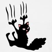 [Jeu] Association d'images Chat-noir-griffes-au-mur-!-Tee-shirts