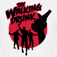 The Walking Drunk – Walking Dead T-Shirt