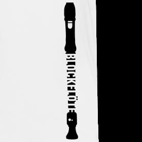 Blockflöte t-shirt, Druckvorlage auf Spreadshirt