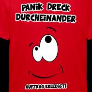 panik dreck durcheinander kinder gewusel T-Shirts