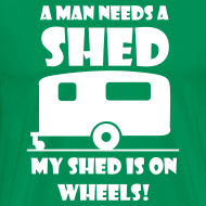 Design ~ A Man needs a Shed