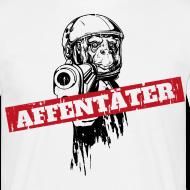Affentäter Affe mit Waffe T-Shirts