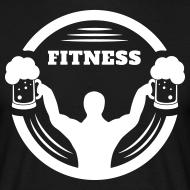 Body Builder Fitness mit Bier Logo T-Shirts