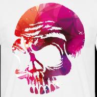 Totenschädel Go Hard T-Shirts