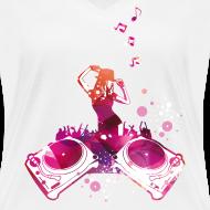 Konzert mit Turntables, Rap, Electro T-Shirts