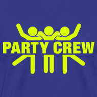Ontwerp ~ Funny party T-shirt Party Crew
