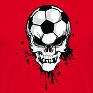 Football Skull – Fußball Totenkopf