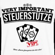 Very important Steuerstütze, Steuerverschwendung T-Shirts