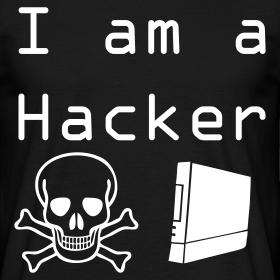 T Shirt I am Hacker Couleur au choix
