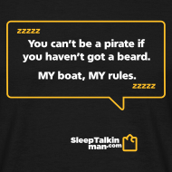 Design ~ MENS: You can't be a pirate if you haven't got a beard