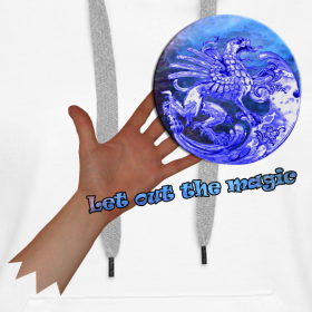 Motiv ~ Hættetrøje dame, let out the magic