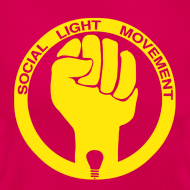 Design ~ SOCIAL LIGHT MOVEMENT YELLOW (womens classic)