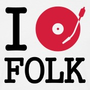 I dj / play / listen to folk T-Shirts