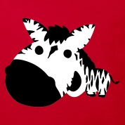Red Zebra Kids' Shirts