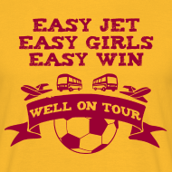 Design ~ Easy Jet Motherwell T-Shirt