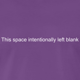 This Space Intentionally Left Blank