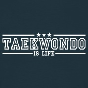 taekwonde is life deluxe Men's T-Shirts