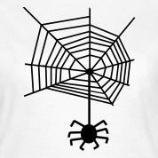 Spider web spiderweb Spider T-Shirts