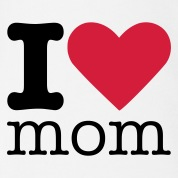 I Love Mom Body neonato