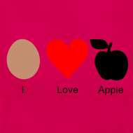 Motiv ~ I Love Apple