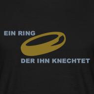 Ein Ring der Ihn knechtet | T-Shirt für den Polterabend