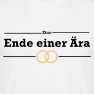 Das Ende einer Ära | T-Shirt für den Junggesellenabschied