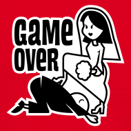 GAME OVER – Hochzeit T-Shirt