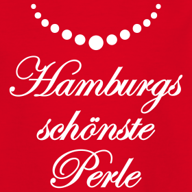hamburgs sch nste perle m dchen t shirt hamburg meine perle rot rosa alle farben hamburg. Black Bedroom Furniture Sets. Home Design Ideas