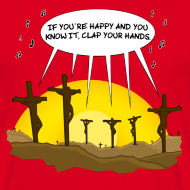 Motiv ~ Clap your hands - Shirt Herren