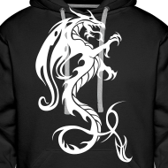 Design ~ Dragon hoodie - red/white