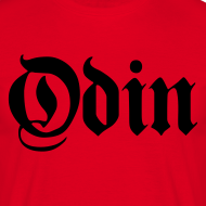 Design ~ Odin t-shirt- red/black