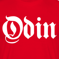 Design ~ Odin t-shirt- red/white