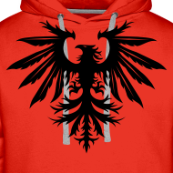 Design ~ Phenix hoodie - red/black