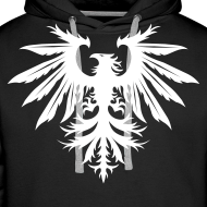 Design ~ Phenix hoodie - white/black