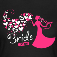 Bride to be | T-Shirt, Girlieshirt für die Braut