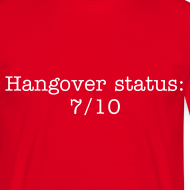 Design ~ Hangover men's tee
