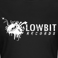 Design ~ Lowbit Records Women's Classic T-Shirt (White Print)