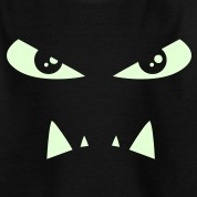 Monsters - evil eyes - comic Kids' Shirts