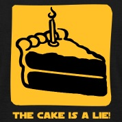 The Cake is a Lie T-paidat