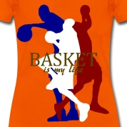 basket is my life T-Shirts