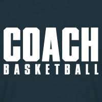 Zoom: Men's T-Shirt with design Basketball Coach