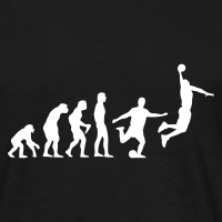 Zoom: Men's T-Shirt with design Basketball Evolution